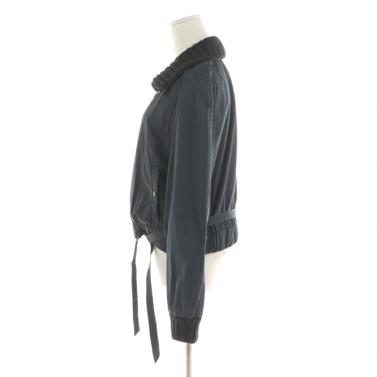 Vest en Coton Marine Dries Van Noten en coloris Noir