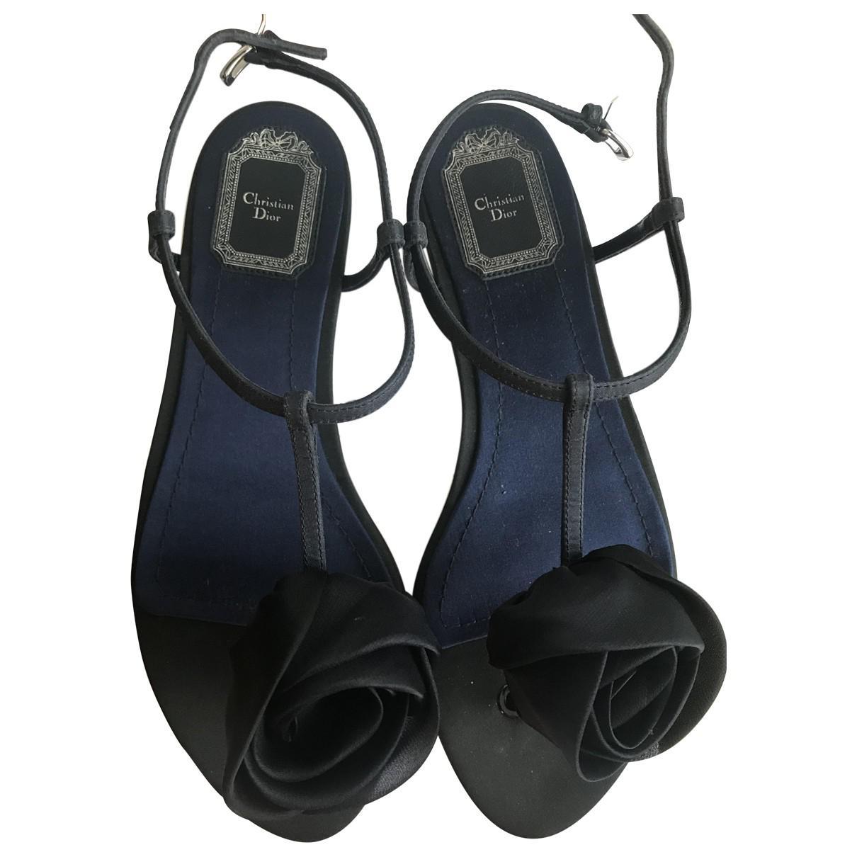 Dior Cloth Flip Flops Pt9k7V
