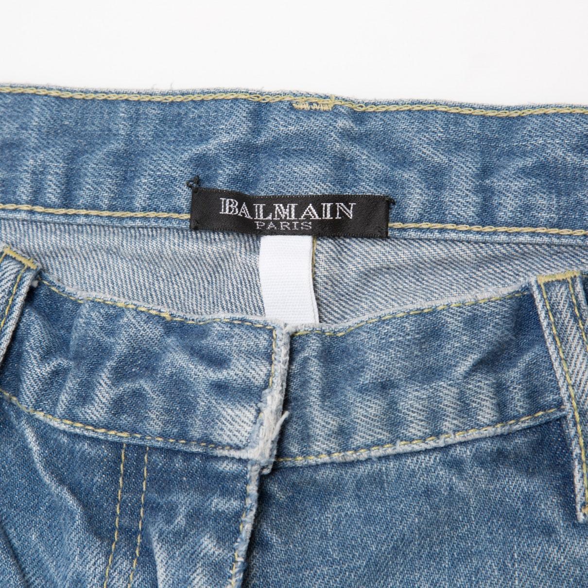 Balmain Denim Skinny Jeans in Blau eiynn