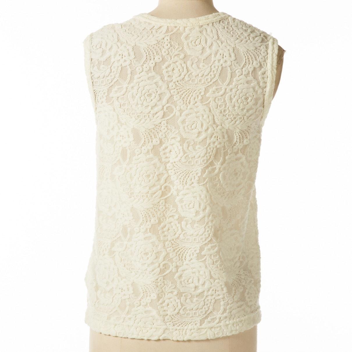 Camiseta Comme des Garçons de Tejido sintético de color Blanco