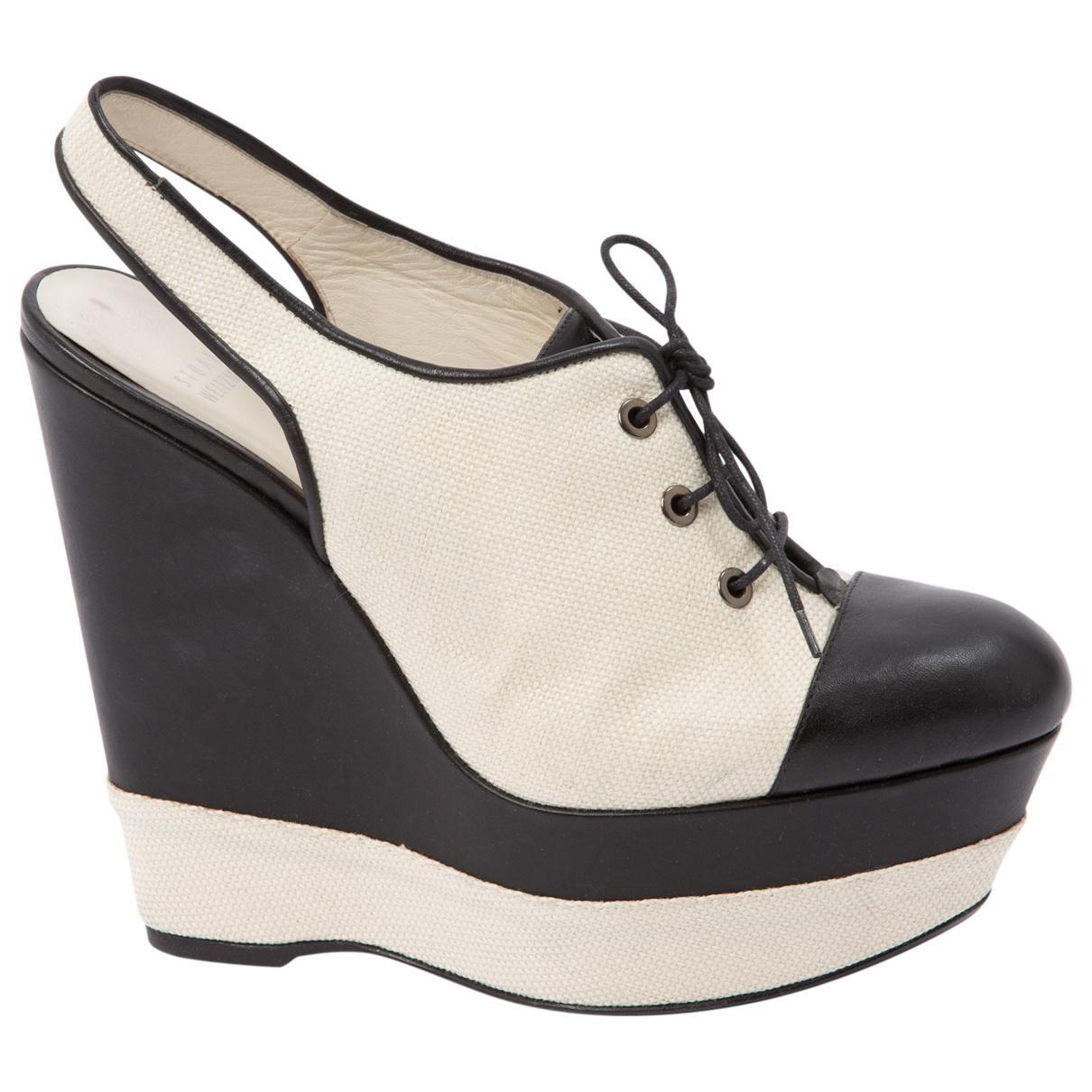 Pre-owned - Cloth heels Stuart Weitzman j6wBYFCEU