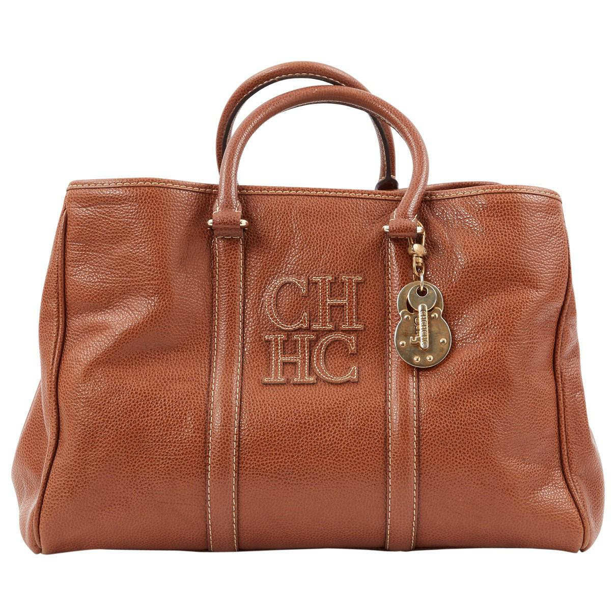 Carolina Herrera Pre-owned - Leather handbag bzML5Xjs