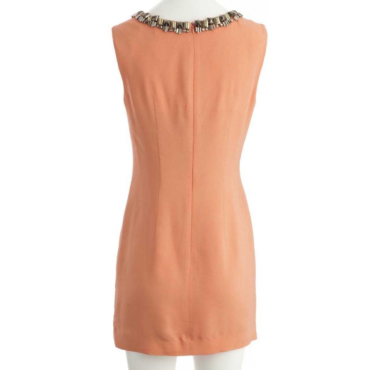 4fdd7e3330 Matthew Williamson - Pre-owned Orange Viscose Dresses - Lyst. View  fullscreen
