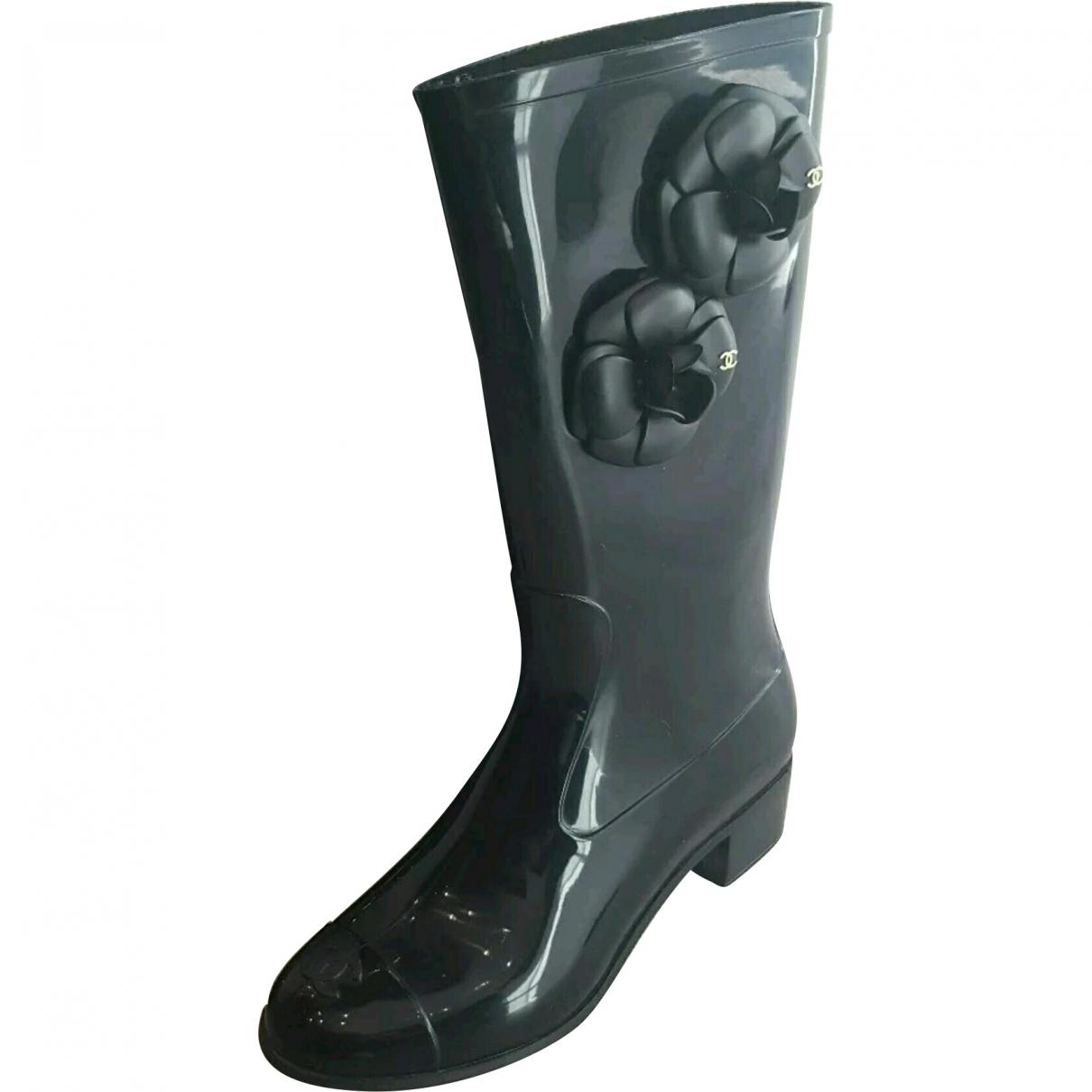 Pre-owned - Wellington boots Chanel sqr069Lyjy