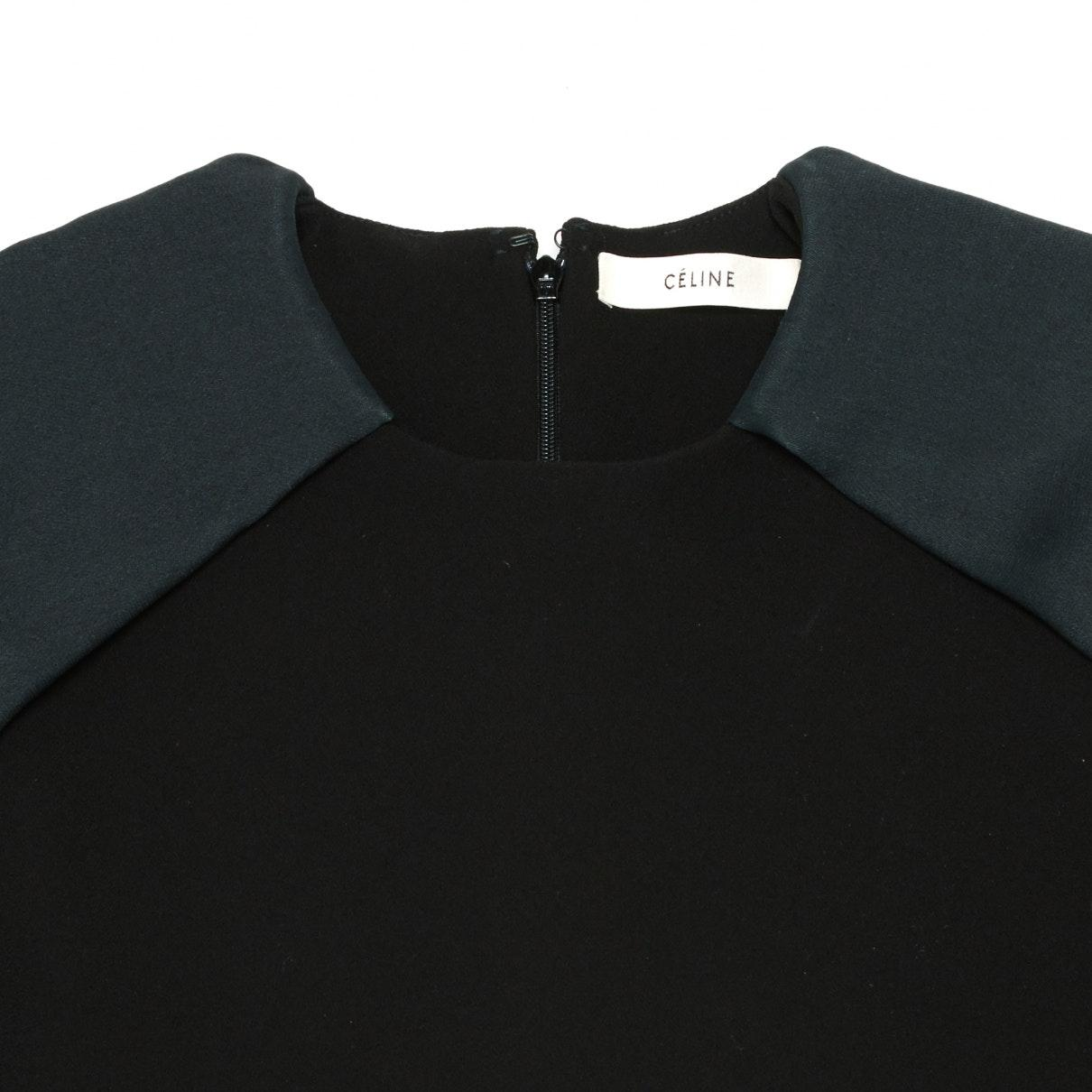 Camisa en sintético negro N Celine de Tejido sintético de color Negro