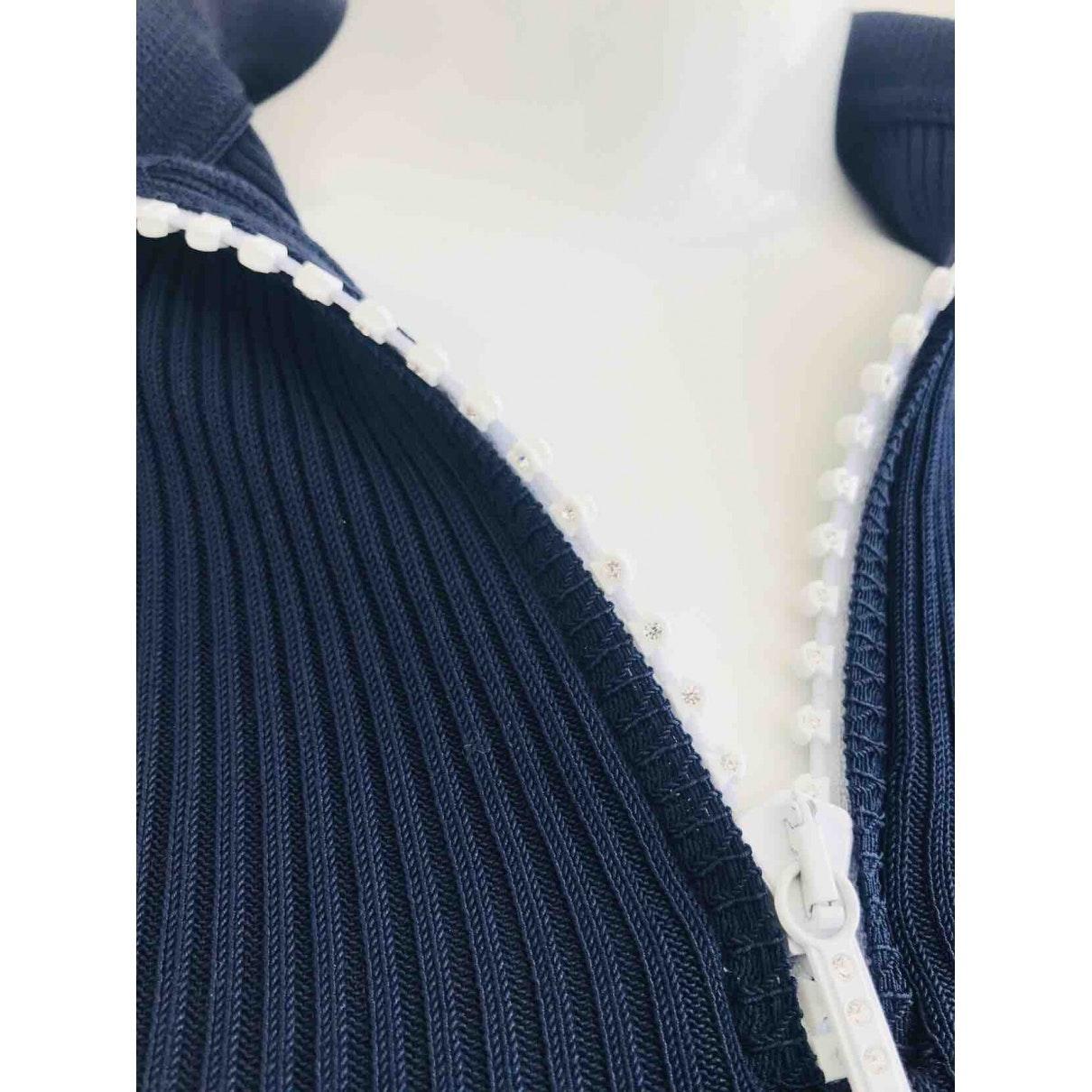 Pull.Gilets N Marine Versace en coloris Bleu