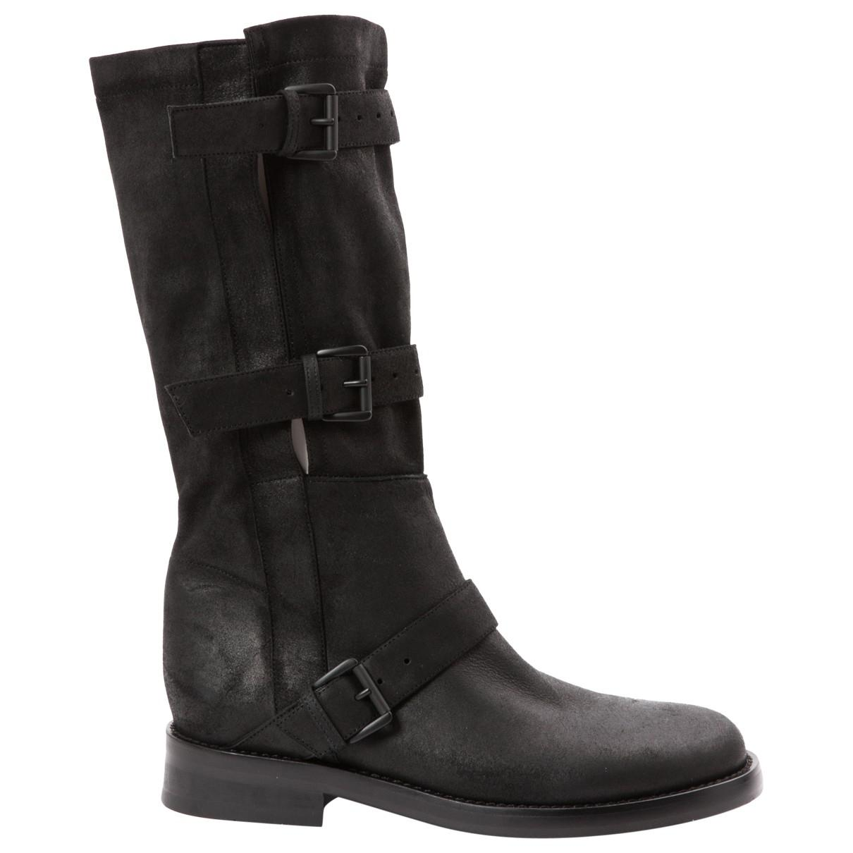 Pre-owned - Leather western boots Ann Demeulemeester Outlet Cost EAJRxs