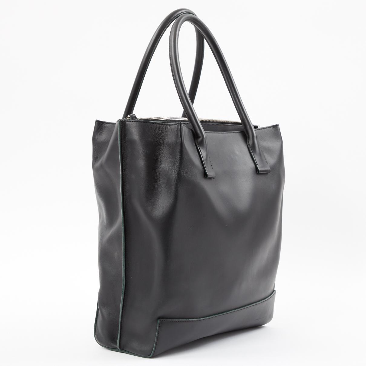 Mulberry - Black Leather Handbag - Lyst. View fullscreen dd03caa20aeaf