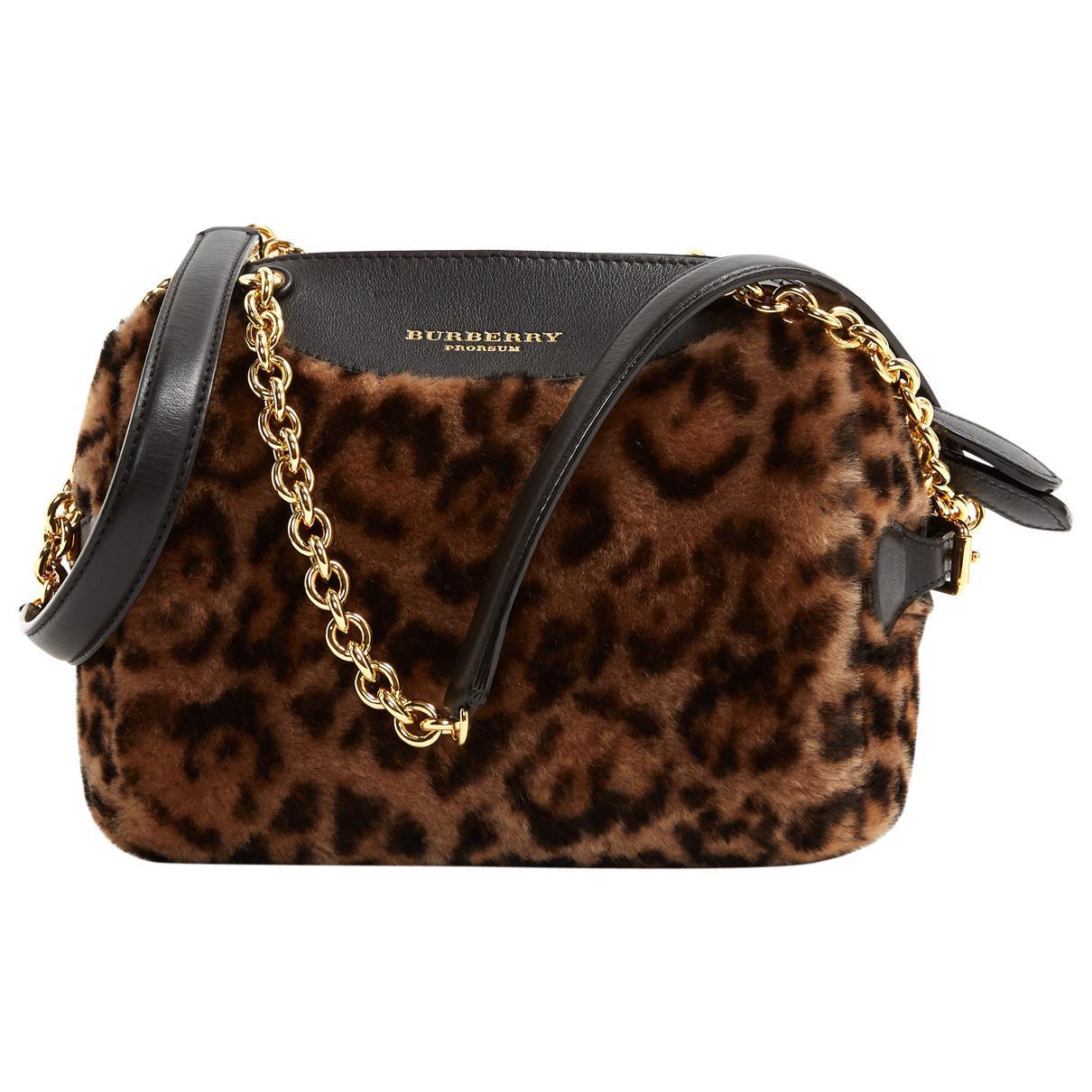 0f4ec541723e Burberry - Black Pony-style Calfskin Handbag - Lyst. View fullscreen