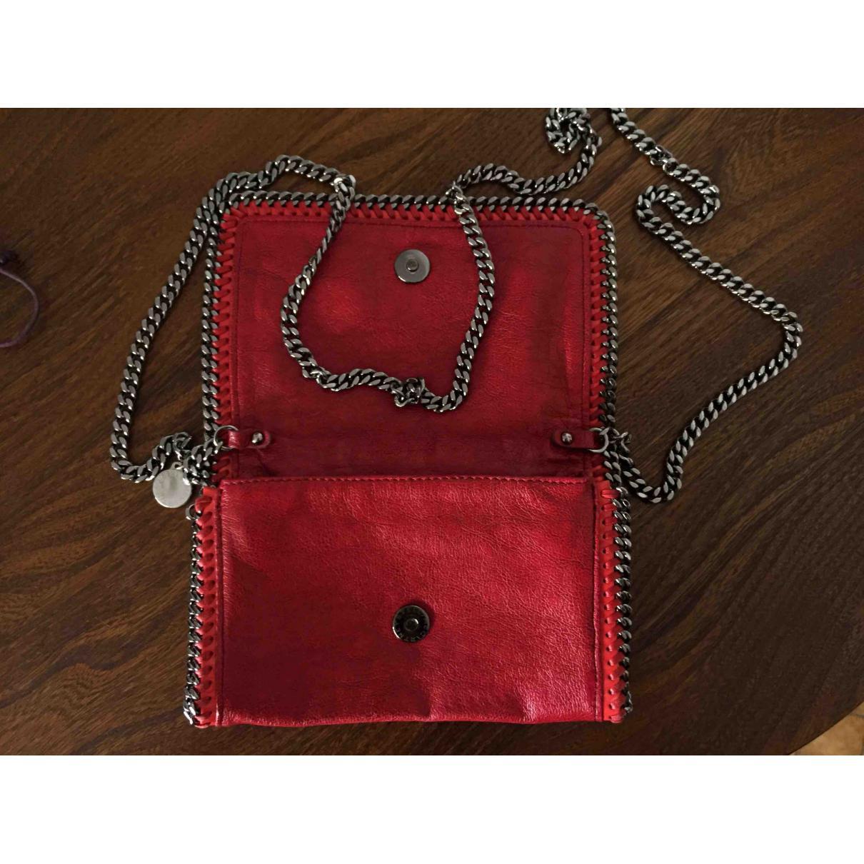 e10689d4ea Lyst - Sac bandoulière Stella McCartney en coloris Rouge