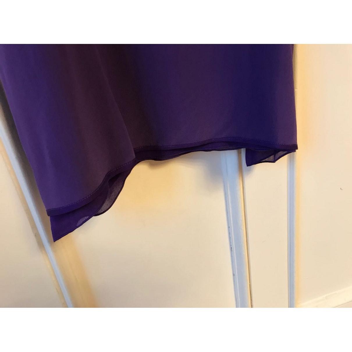 Top N en Soie Violet Chloé en coloris Violet