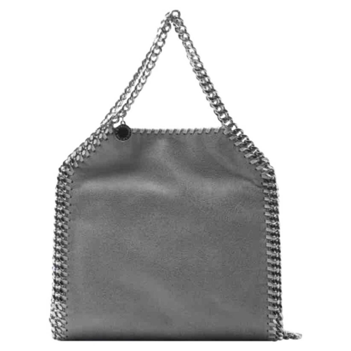 Stella McCartney Synthetic Women's Shoulder Bag Falabella Small Tote shaggy Deer in Grey (Grey)