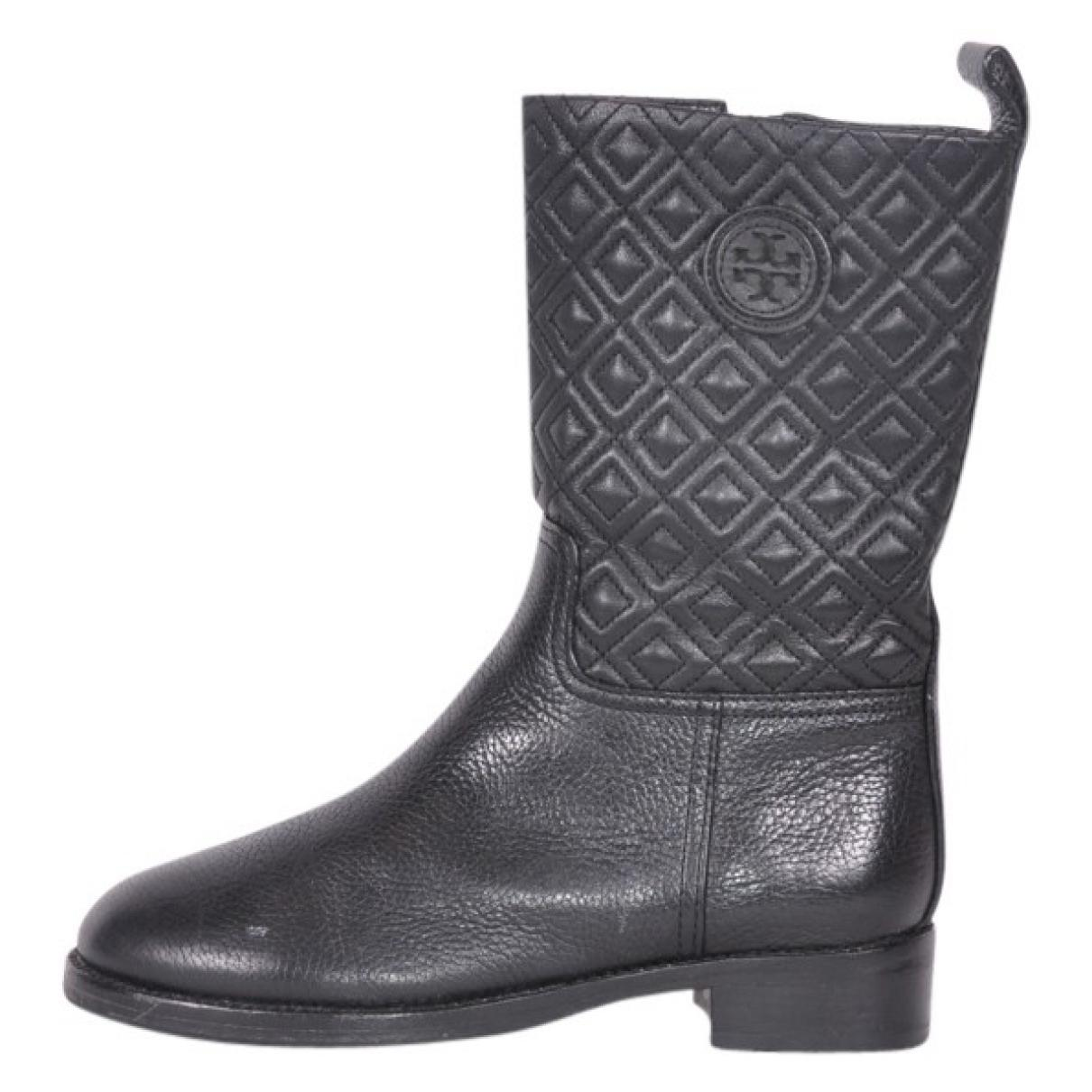 47fc5d6c2 Tory Burch. Women s Black Leather Boots.  135 From Vestiaire Collective