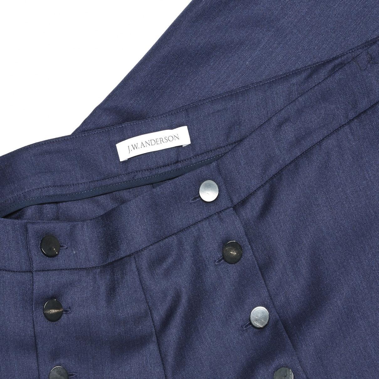 Pantalones en lana marino N JW Anderson de color Azul