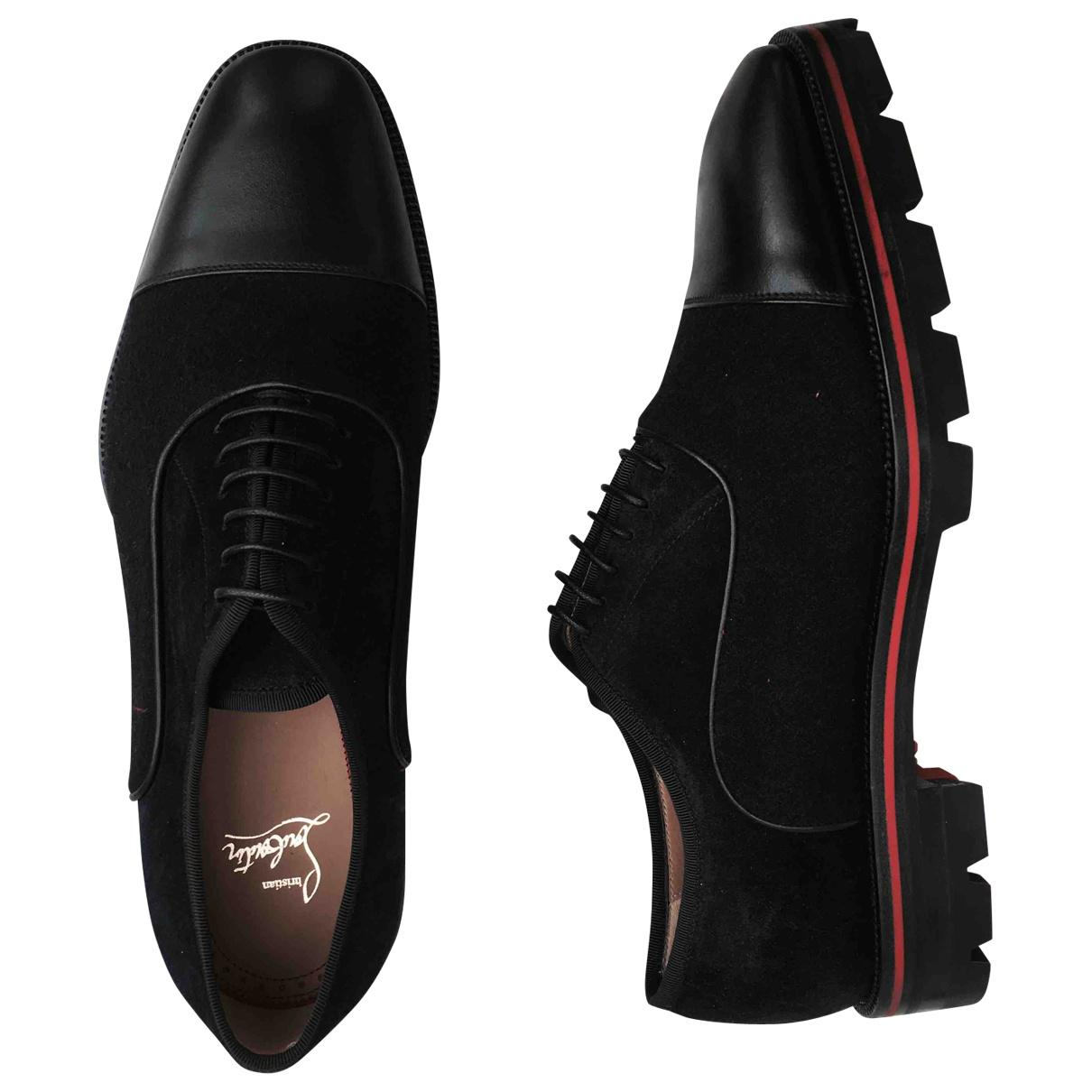Pre-owned - Leather lace ups Christian Louboutin B5TCYy0