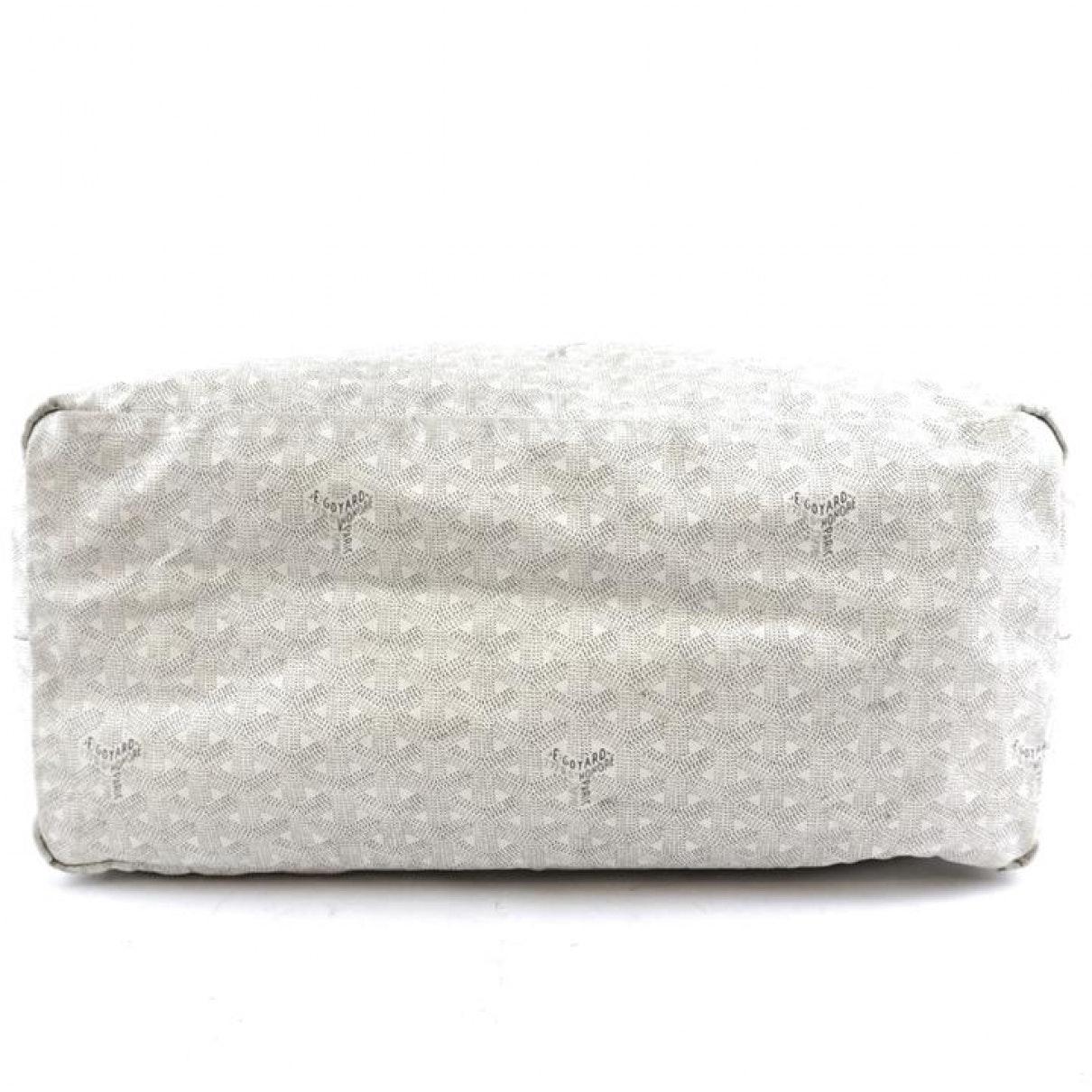 Sac à main Saint-Louis en Toile Blanc Goyard en coloris Blanc nO7R