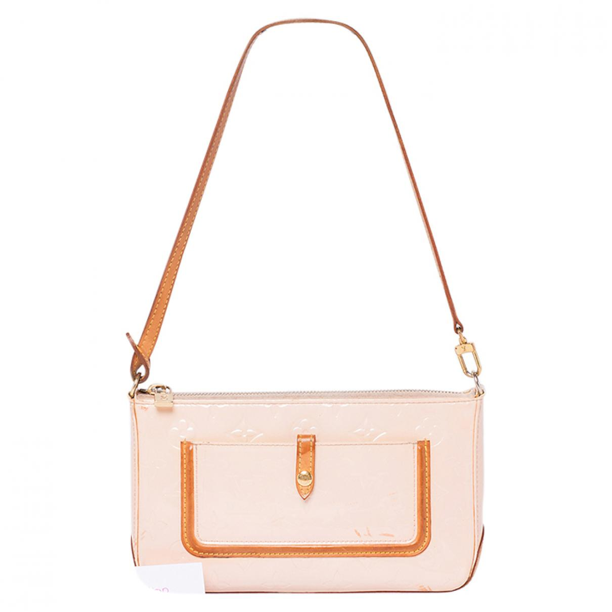 0bb9dd658f64 Lyst - Louis Vuitton Patent Leather Mini Bag in Pink