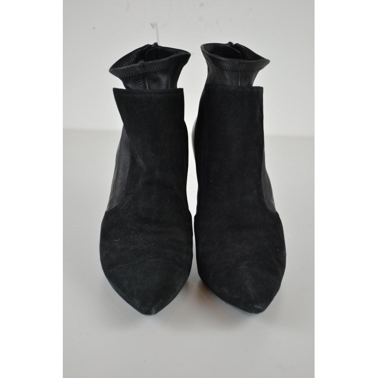 Tacones de Cuero Givenchy de Cuero de color Negro