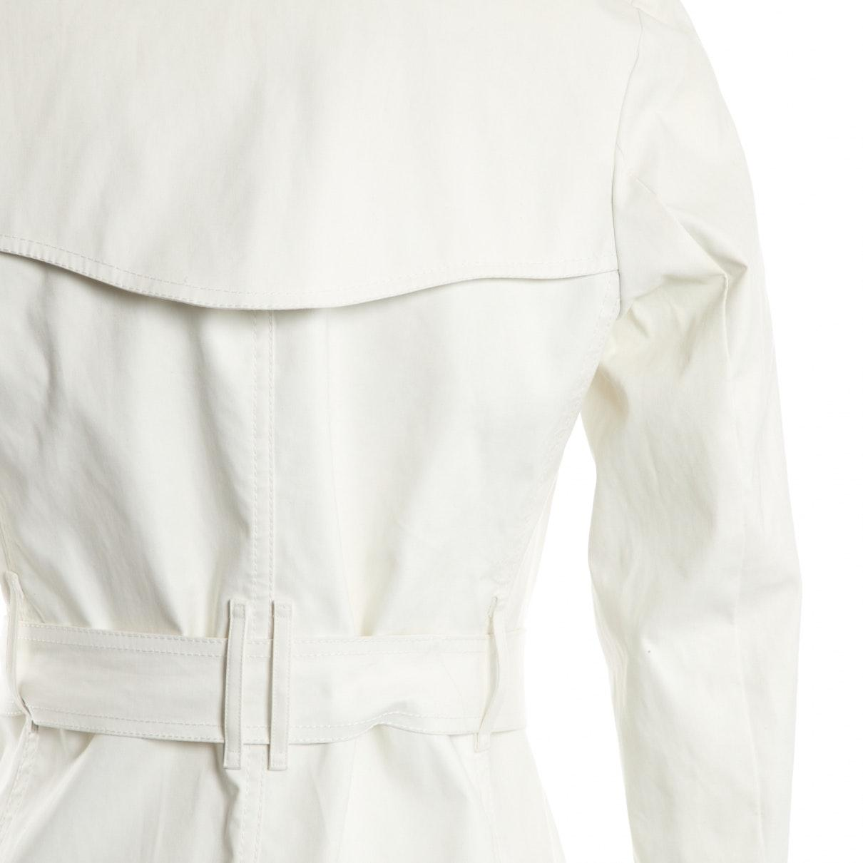 Trenchs en Coton Écru Coton Burberry en coloris Blanc