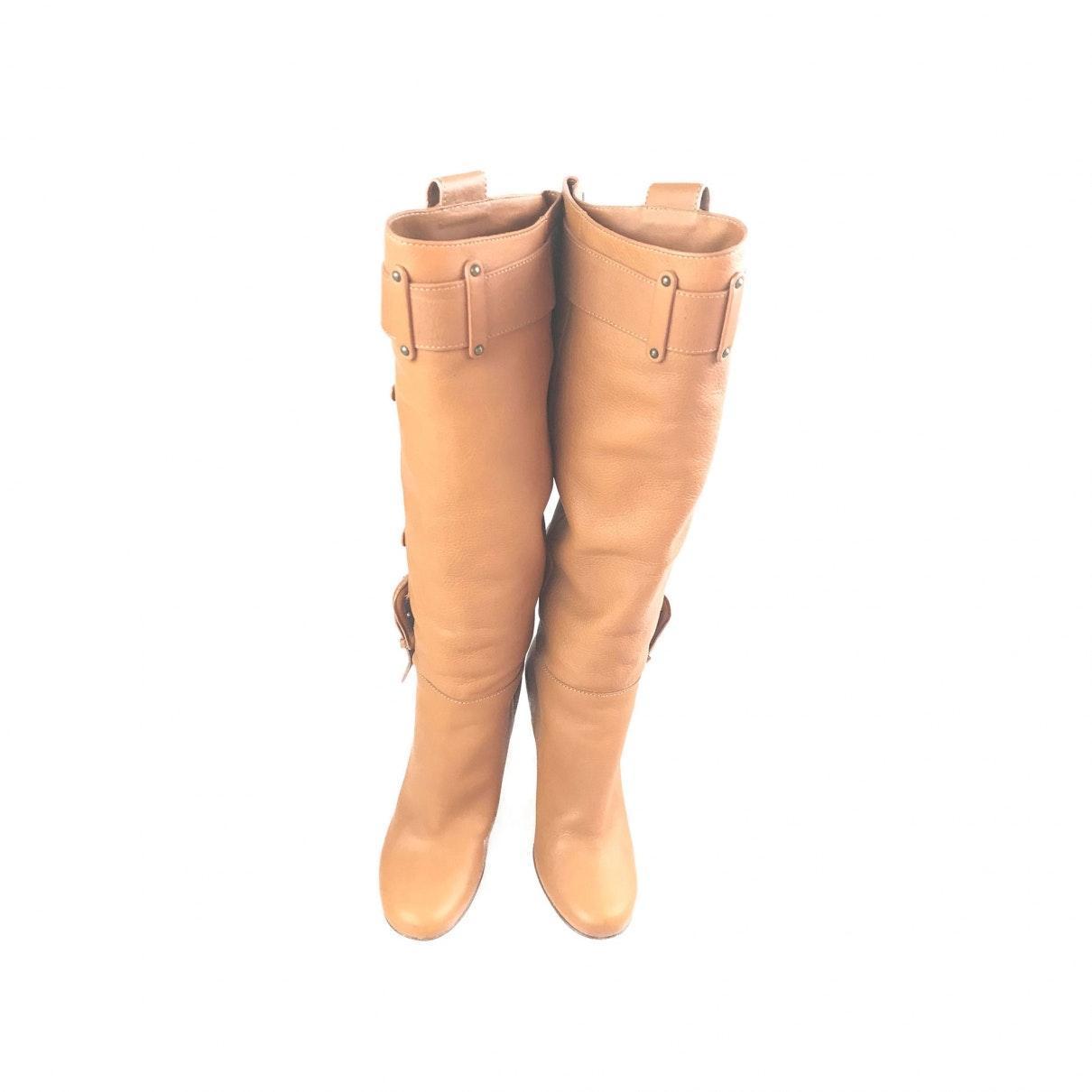 Botas en cuero marrón Giuseppe Zanotti de Cuero de color Marrón