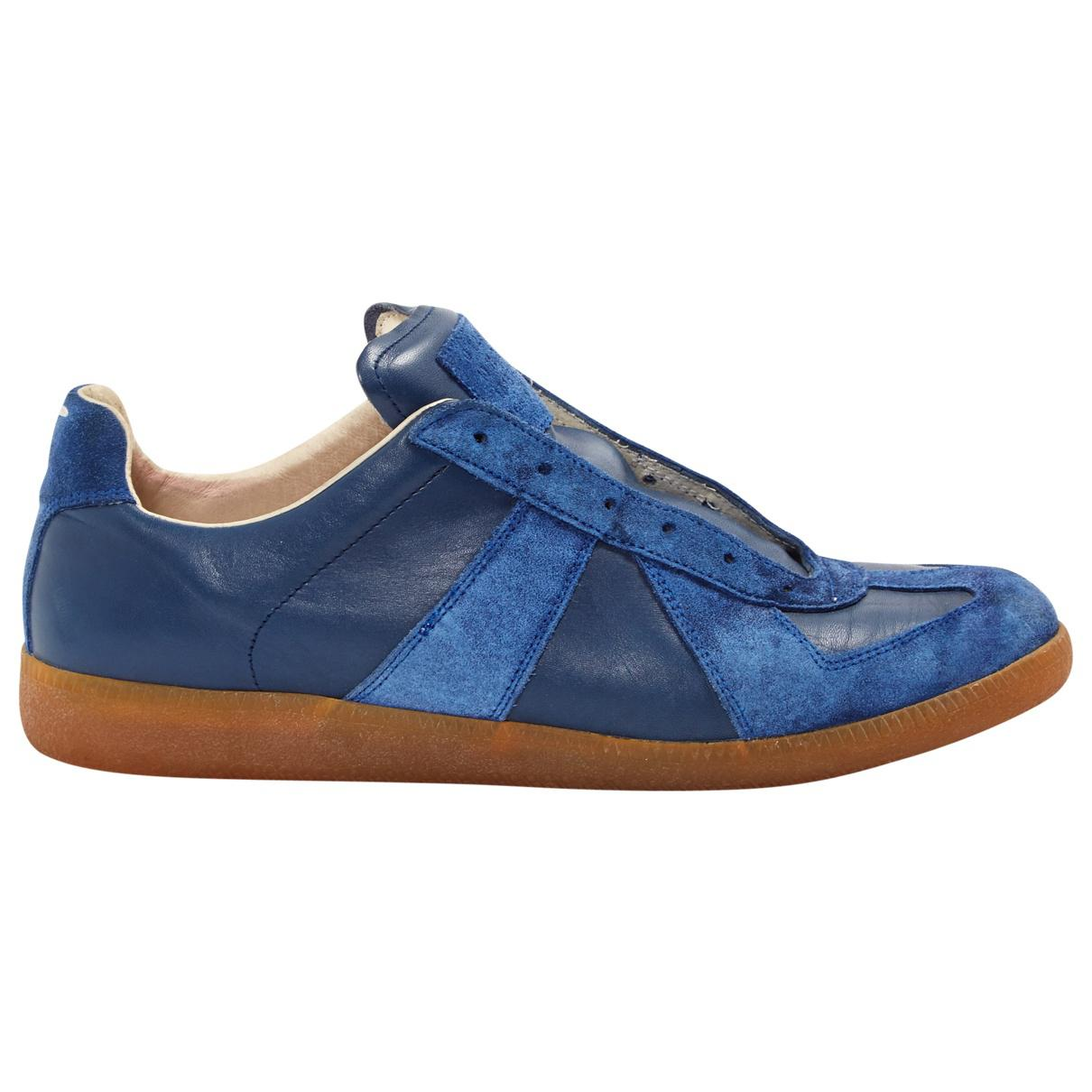 Pre-owned - Leather low trainers Maison Martin Margiela 7g9tYj