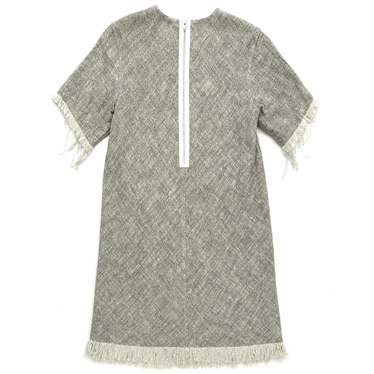 Robe en Coton Gris Coton Alexander Wang en coloris Gris