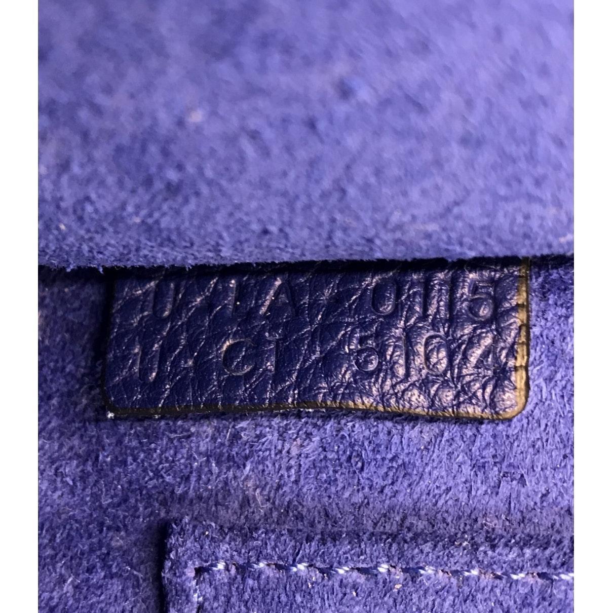 Sac à main Luggage en Cuir Bleu Celine en coloris Bleu 8oDg