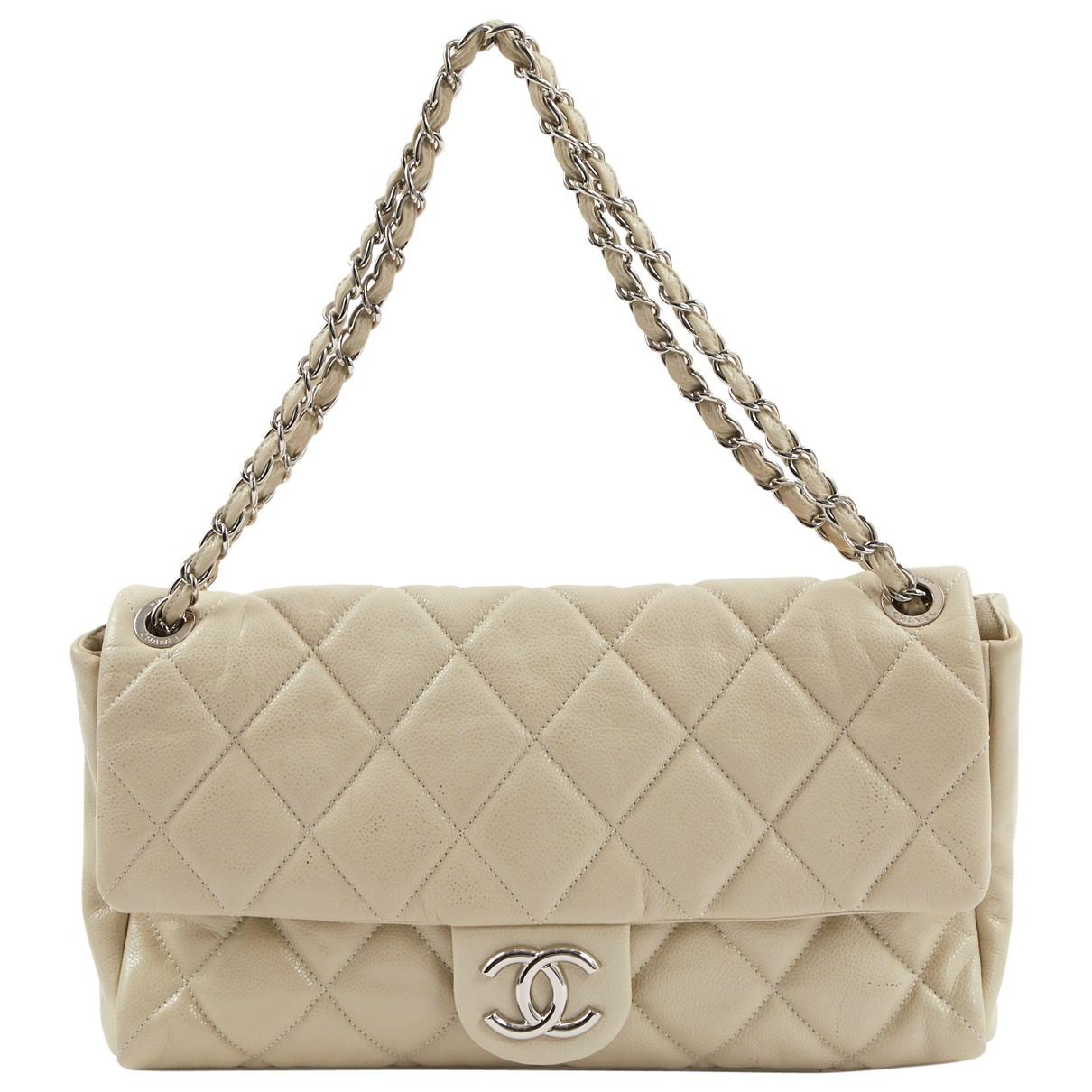 3bbb8d4375f9 Lyst - Chanel Timeless Leather Handbag