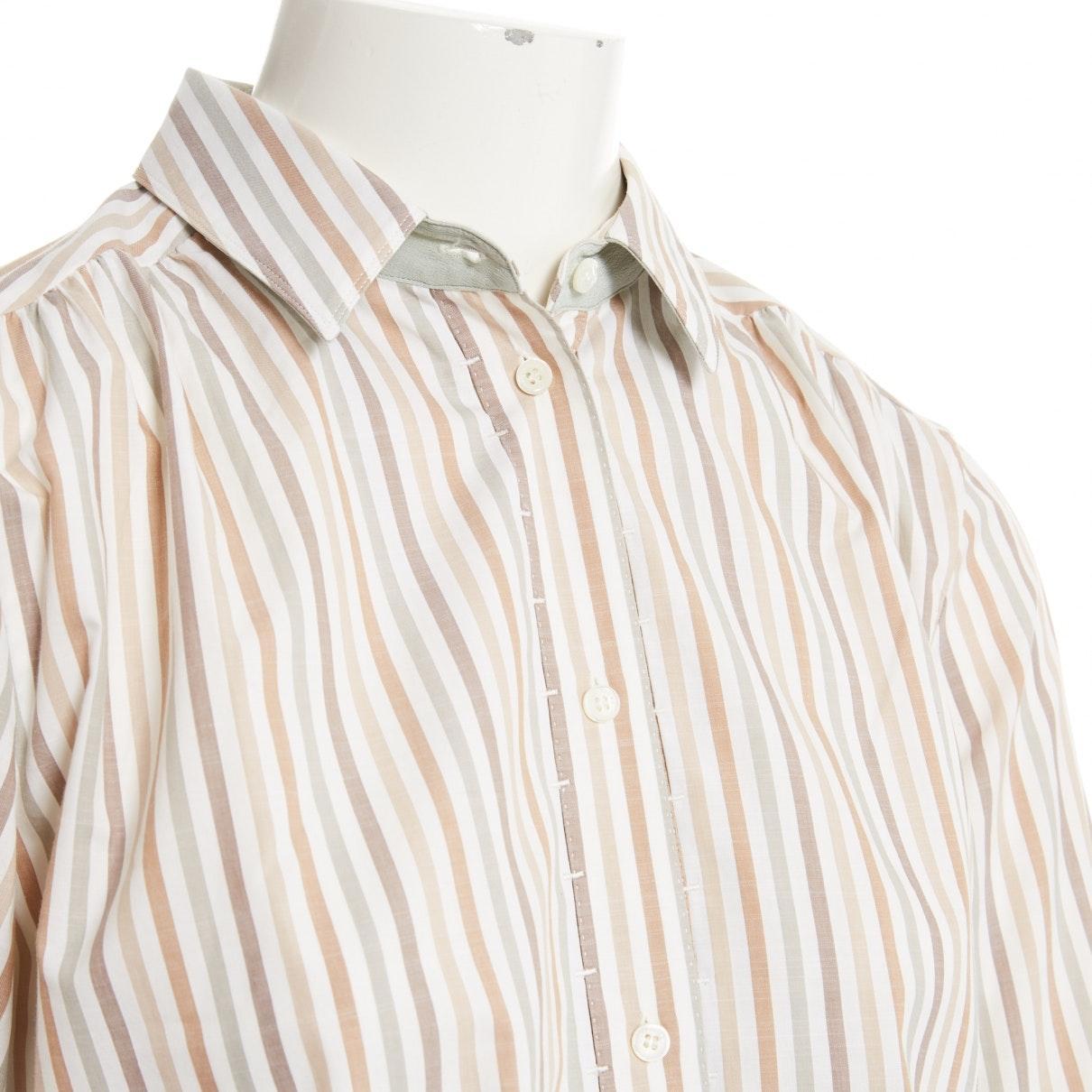 Top en Coton Multicolore Coton Loro Piana en coloris Blanc