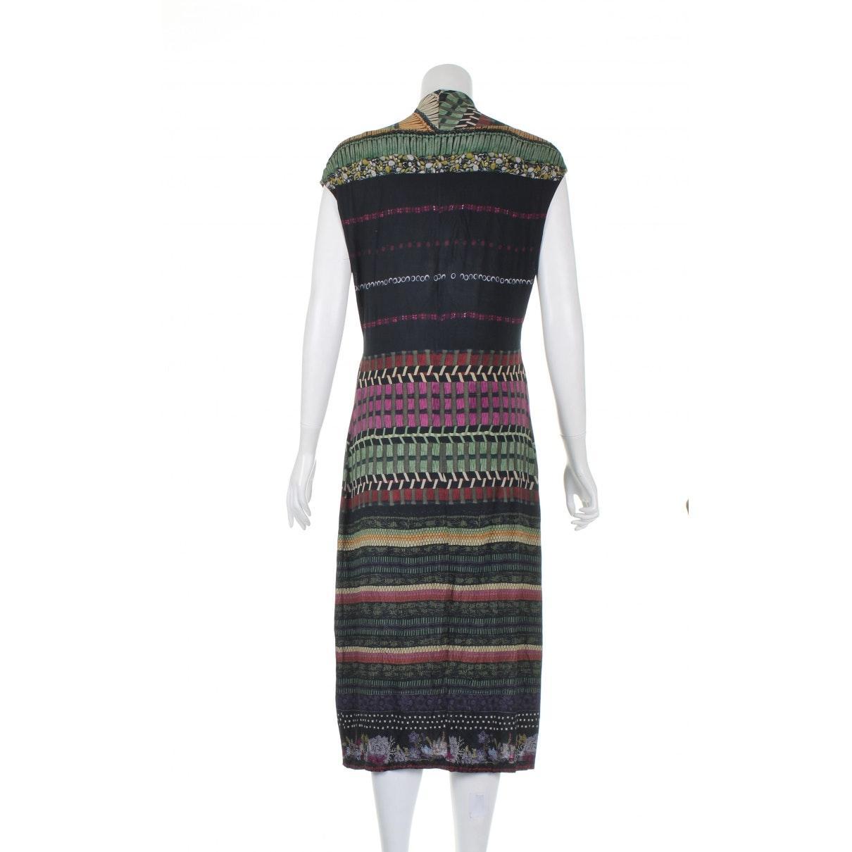 Robe N en Viscose Multicolore Synthétique Etro en coloris Noir