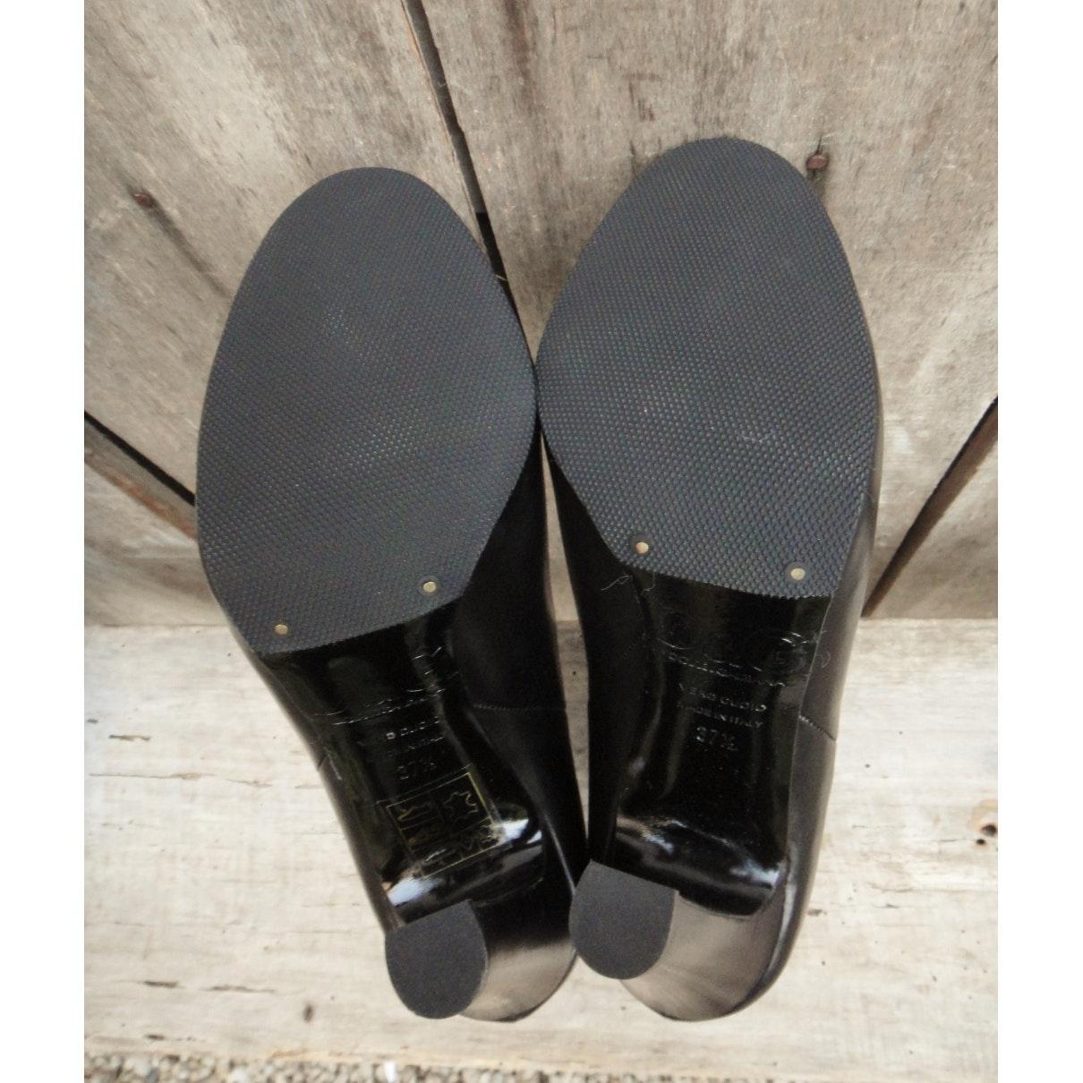 Botines en cuero negro N Dolce & Gabbana de color Negro