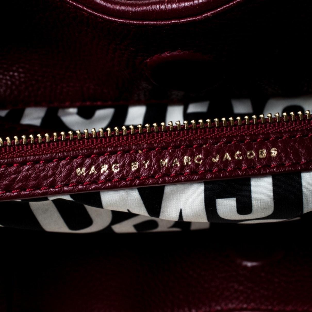 Sac à main en Cuir Bordeaux en Cuir Marc By Marc Jacobs V79p