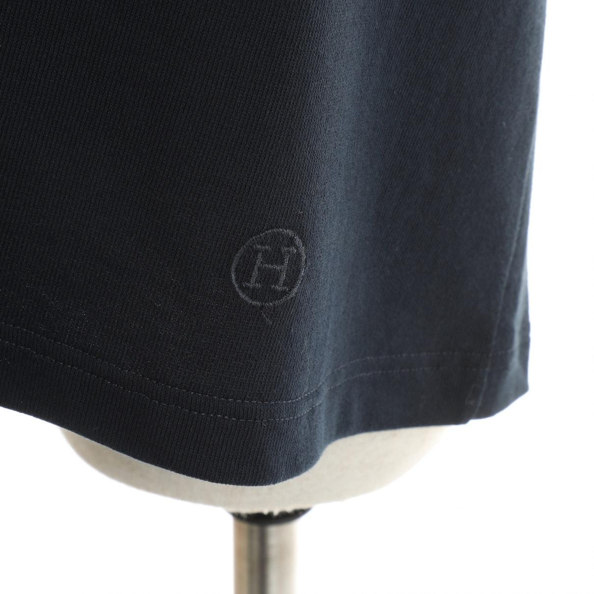 Top en Coton Marine Hermès en coloris Bleu