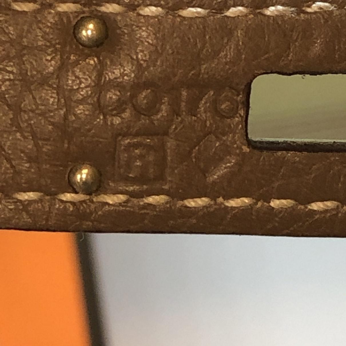 Sac à main Kelly 32 en Cuir Marron Cuir Hermès en coloris Marron yuXQ