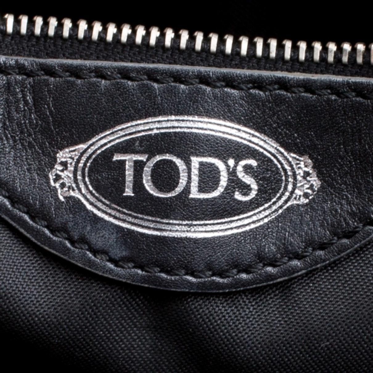 Sac à main en Cuir Noir Tod's en coloris Noir PhLS