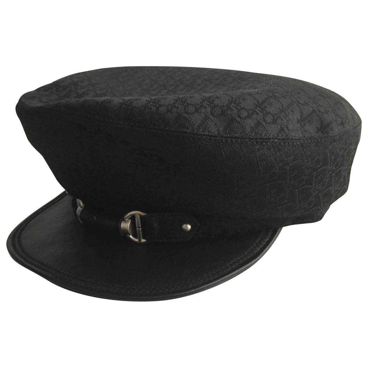 be95a919011 Dior Hat in Black - Lyst