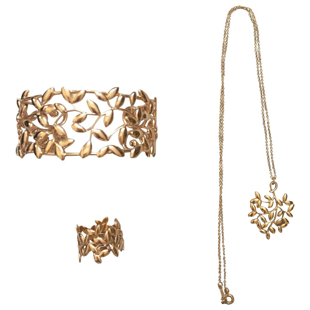 878904b63 Tiffany & Co. Pre-owned Paloma Picasso Pink Pink Gold Jewellery Sets ...