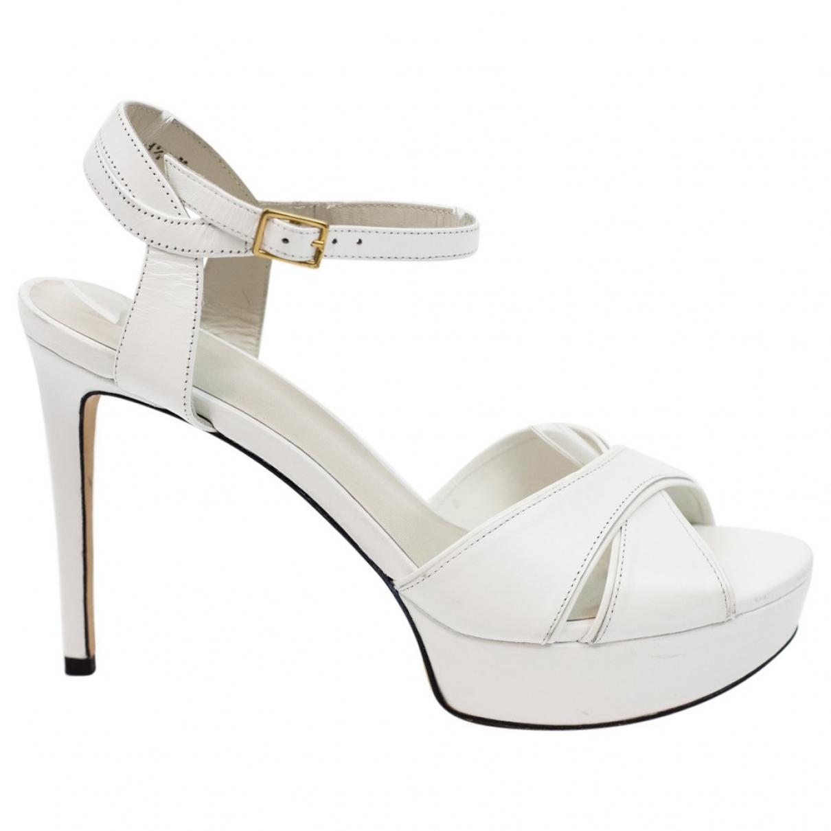 Pre-owned - Leather heels Stuart Weitzman 0dIdoC5G1f