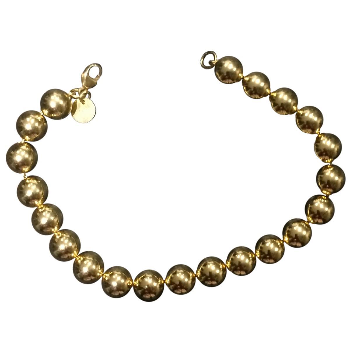 9f3706a82626 Lyst - Tiffany   Co. City Hardwear Yellow Gold Bracelet in Metallic