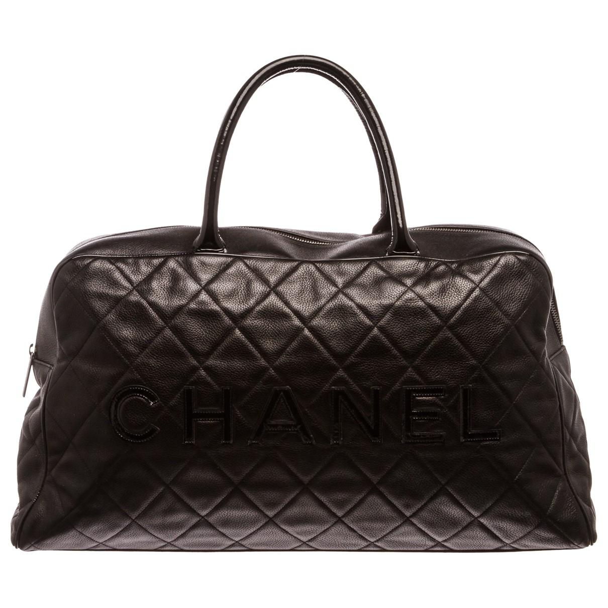 Chanel Pre-owned - Leather 48h bag RnfOf