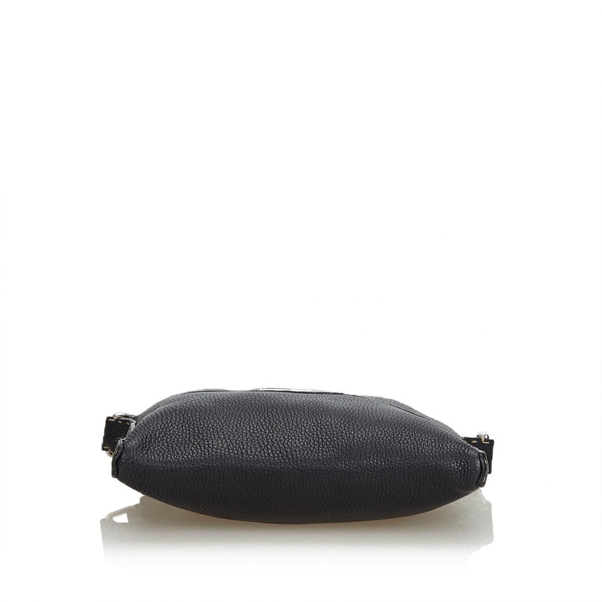 Sacs à main Cuir Fendi en coloris Noir CJrg