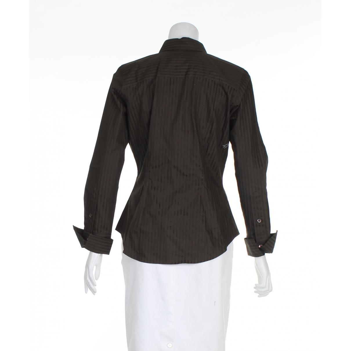 Camisa Burberry de Algodón de color Marrón
