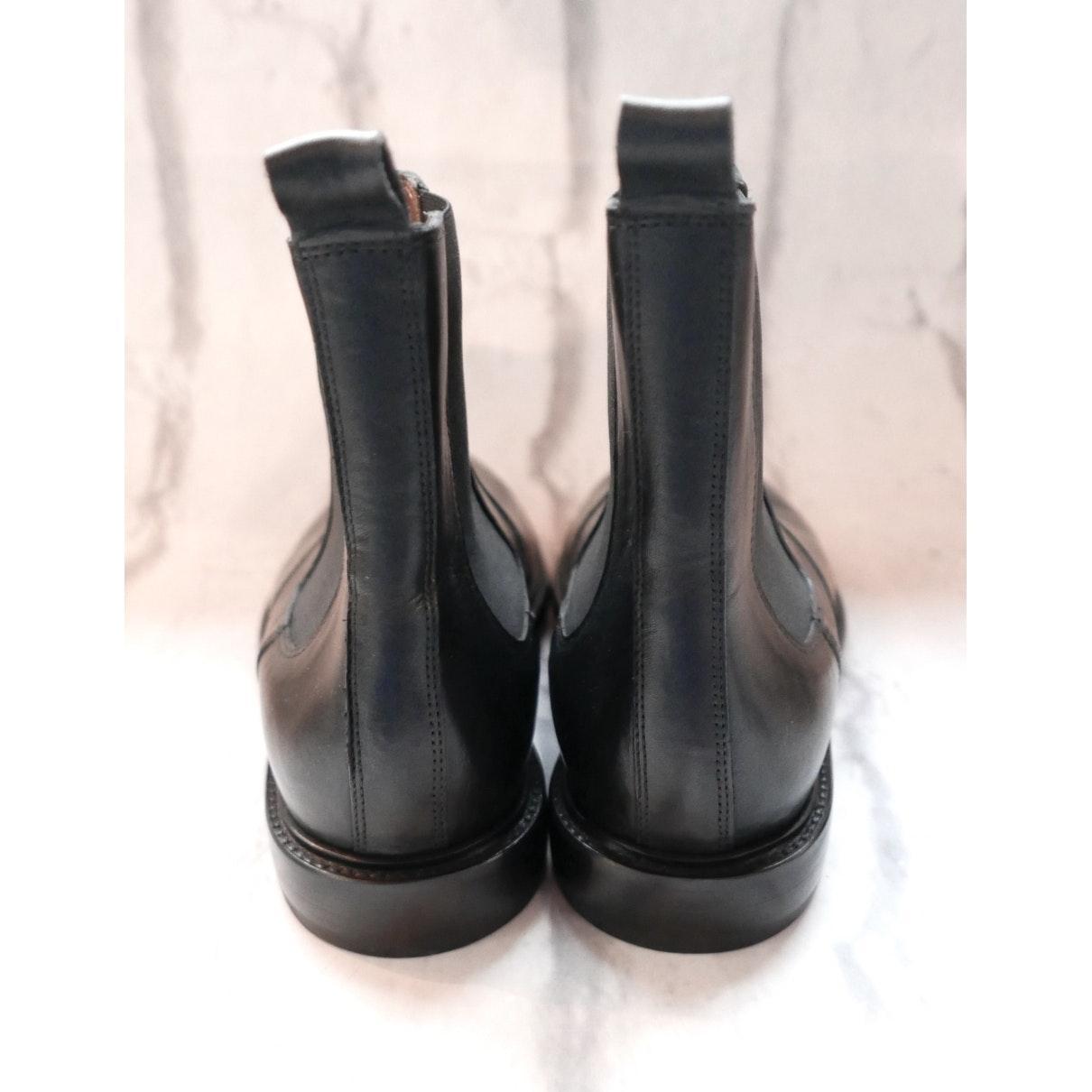 Botines en cuero negro Isabel Marant de color Negro