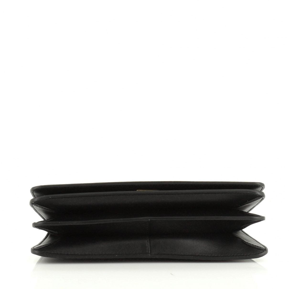 Givenchy Leder Leder Handtaschen in Schwarz QOLkk