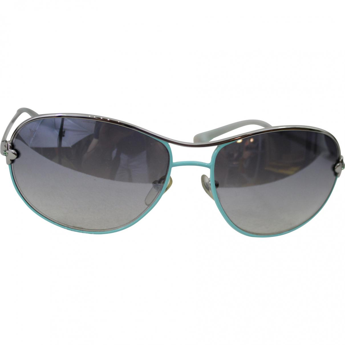 28d04fd77ef5 Lyst - Louis Vuitton Pre-owned Sunglasses in Blue