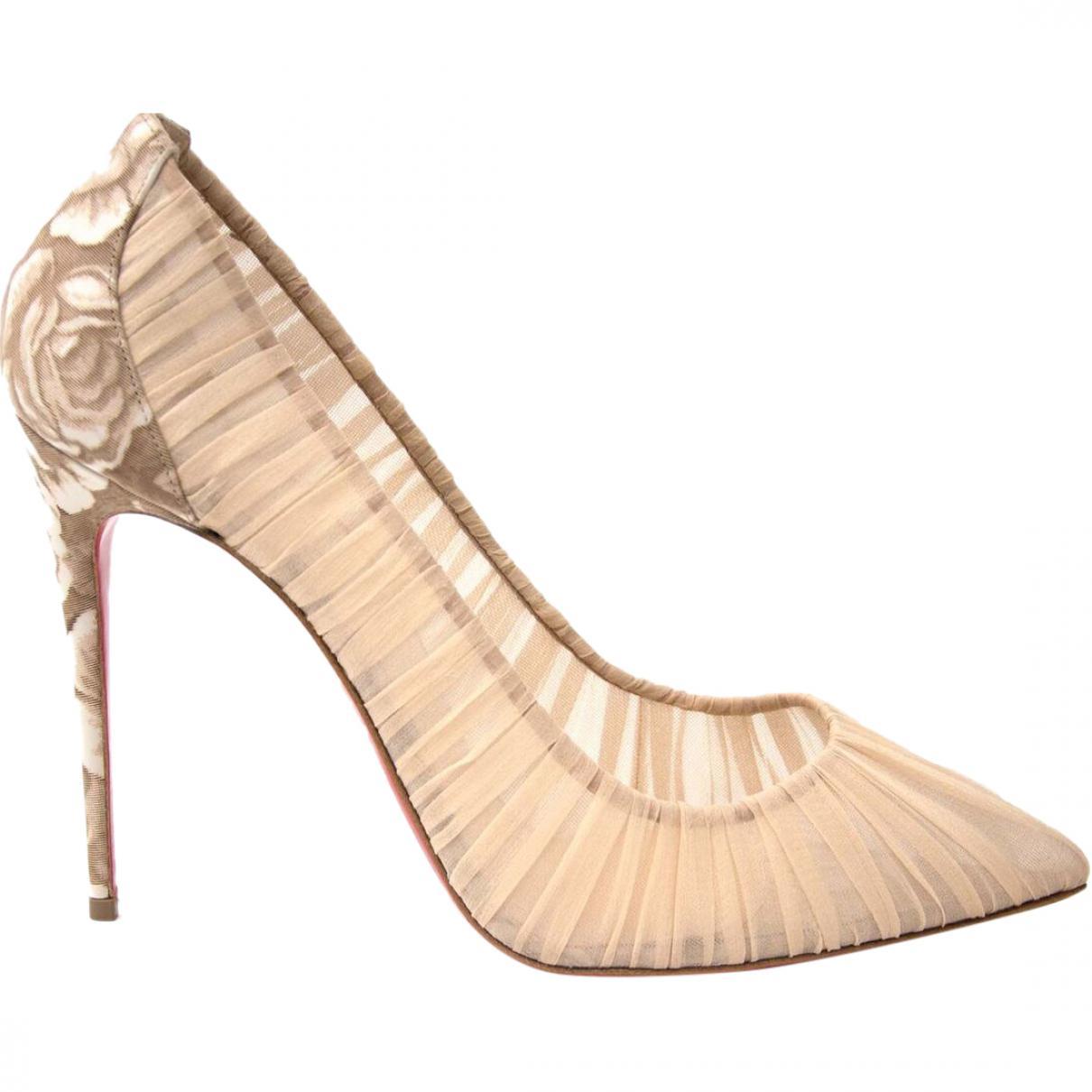 Pre-owned - Glitter Heels Iriza Christian Louboutin CKWg3Dsq