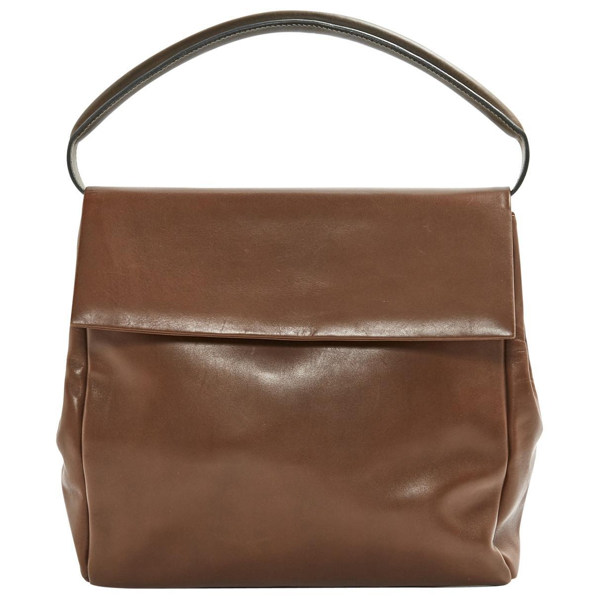 Marni Pre-owned - Brown Leather Handbag zN8aKJ5S