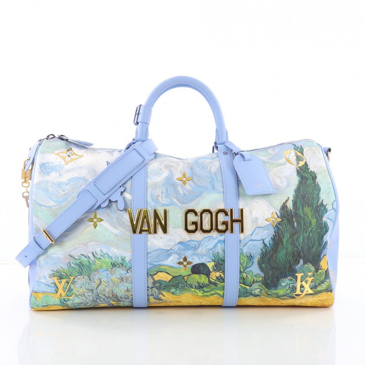 f4e11632577d Louis Vuitton Keepall Bandouliere Bag Limited Edition Jeff Koons Van ...
