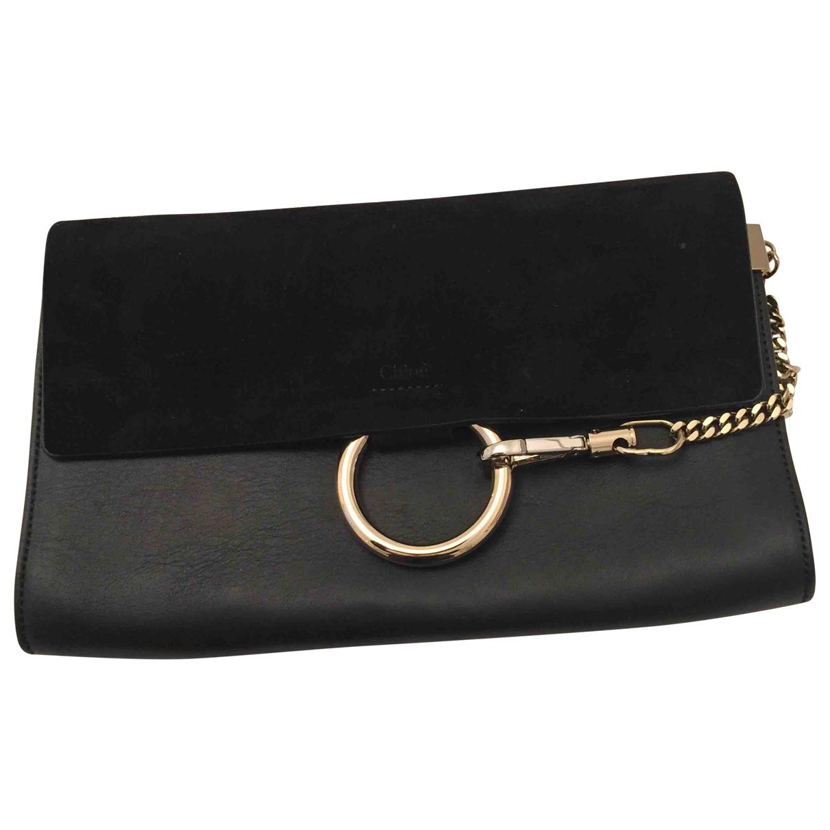 Outlet Discount Sale Leather Statement Clutch - peace of i-navy/gold by VIDA VIDA Discount Inexpensive Free Shipping Discount R479R6e9