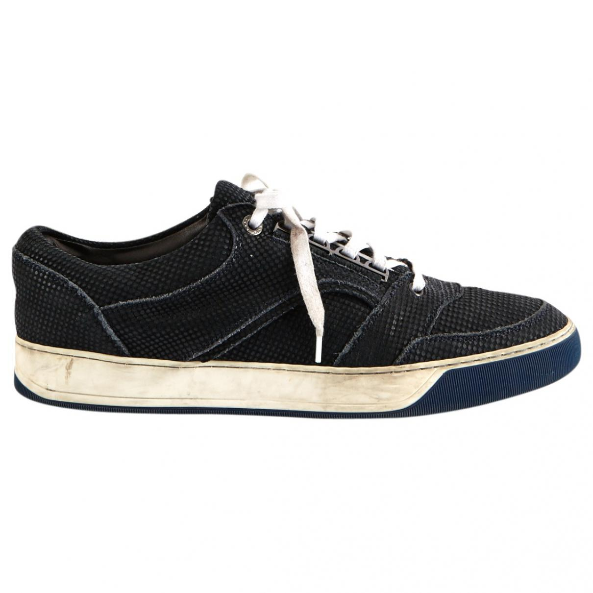 Pre-owned - LOW-TOP SNEAKERS Lanvin XzOhgg